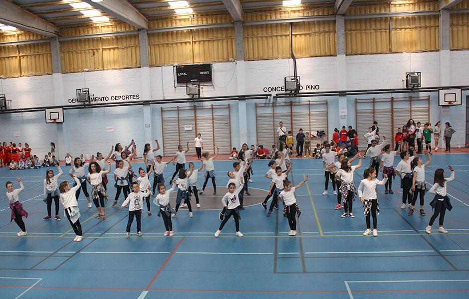 Festa de clausura das Escolas Deportivas Municipais e Culturais o día 8 de xuño