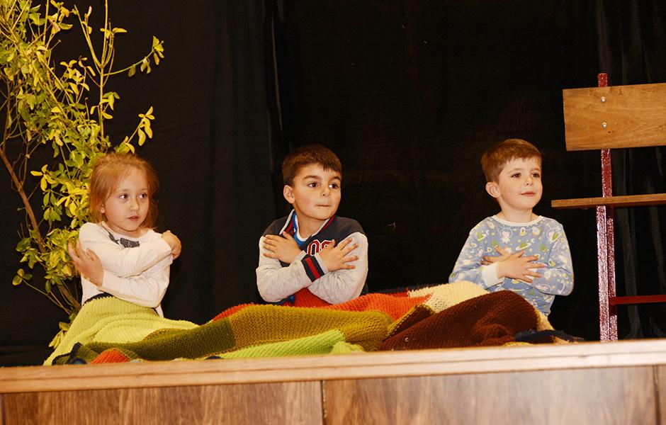 Novo éxito dos grupos de teatro da ANPA tras actuar para os compañeiros de colexio