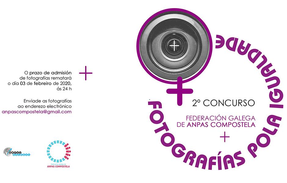 O 3 de febreiro remata o prazo para participar no  concurso 'Fotografías pola Igualdade'