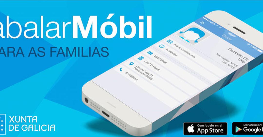 As familias deben instalar AbalarMobil para recibir as notas da 2ª avaliación o venres 3 de abril
