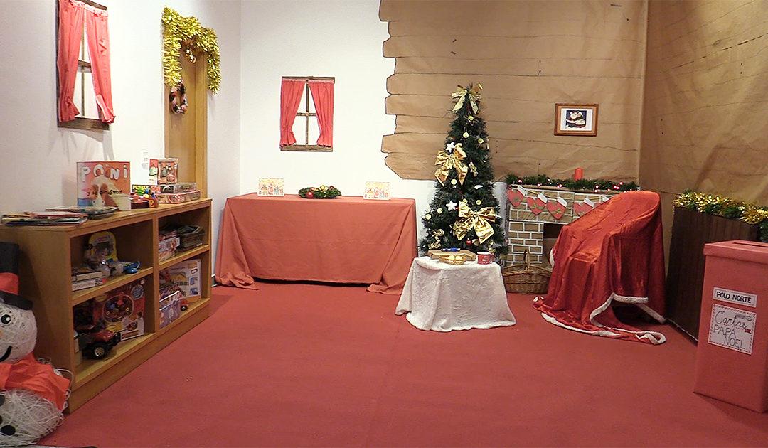 Papá Noel solicita facer unha videoconferencia cos nenos e nenas do colexio