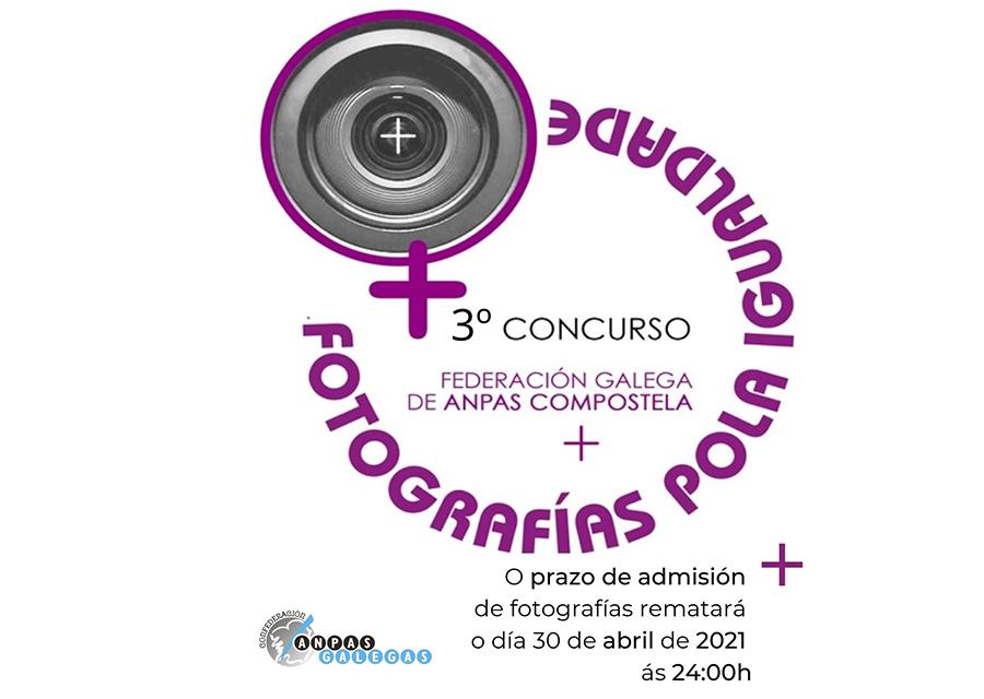 O día 30 remata o prazo do concurso 'Fotografías pola Igualdade' da Federación ANPAS Compostela